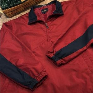 Dockers Golf Partial Zip Pullover  - Size Large